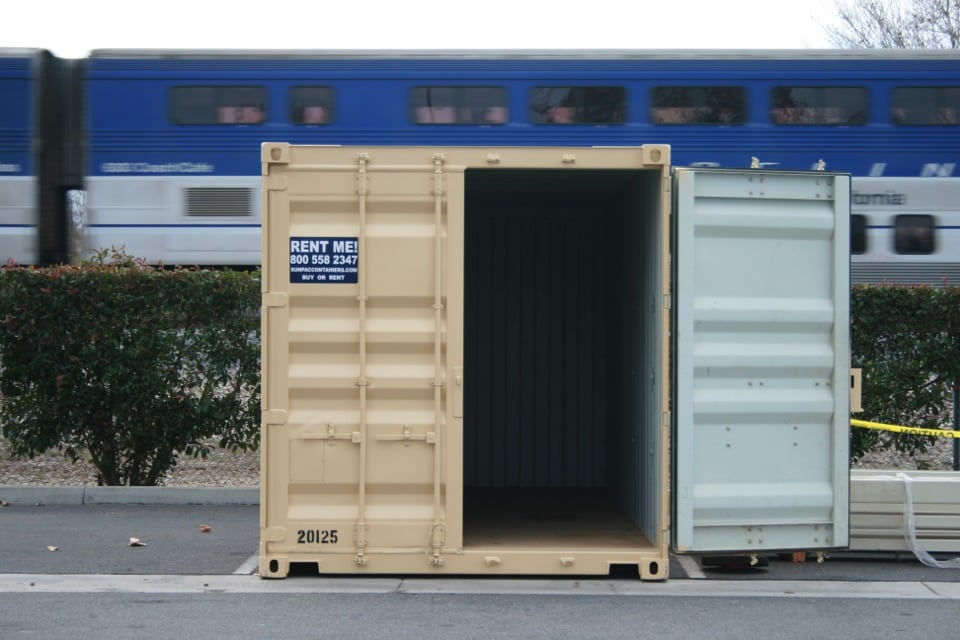 Construction job site storage solutions sun pac containers for Construction container
