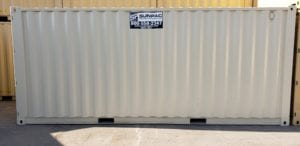 20 ft rental storage container