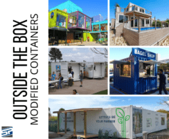 collage of modified containers