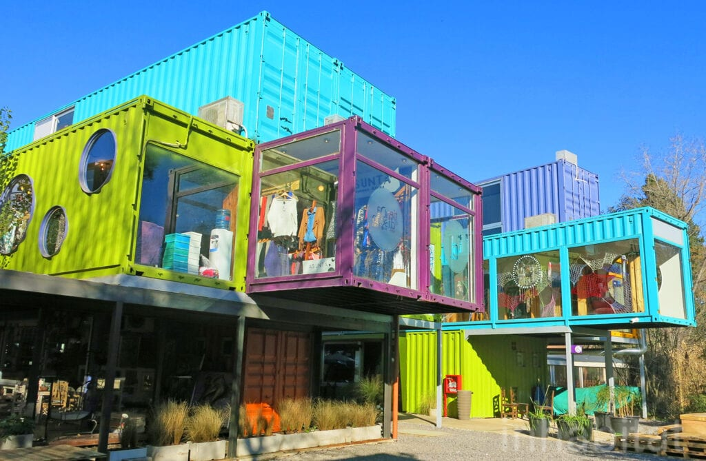 Modified Storage Container Shopping Mall